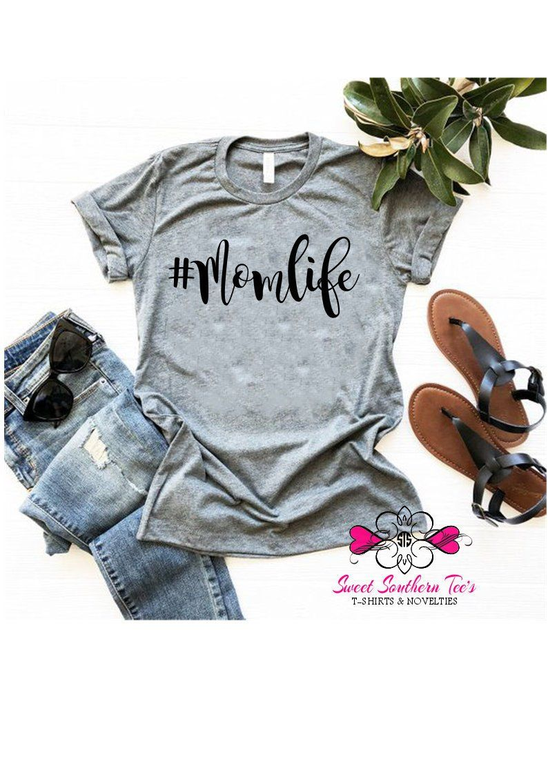 Momlife Shirt Mom Shirts For Moms Trendy T