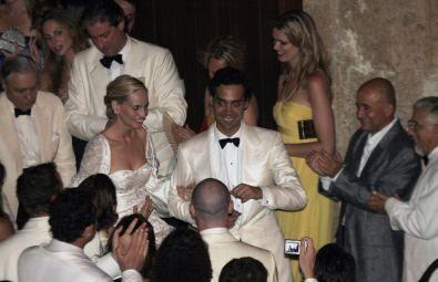 Andres Santo Domingo And Lauren Davis Wedding