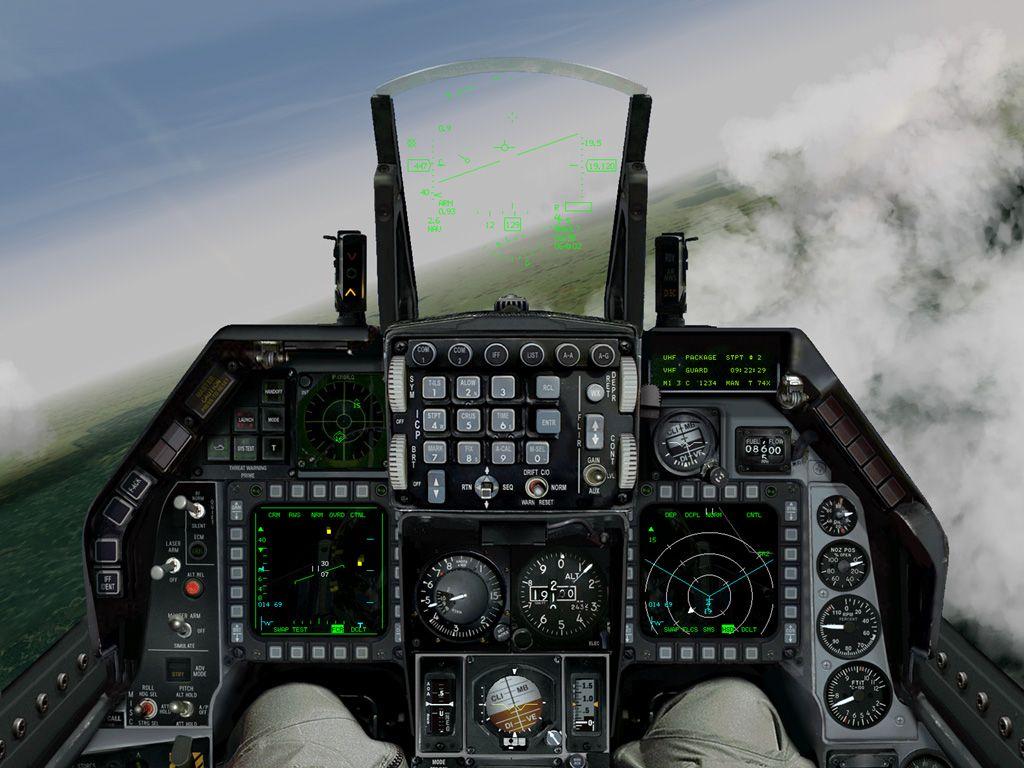 F 16 Fighter Jet Cockpit F-16 cockpit view | Pa...