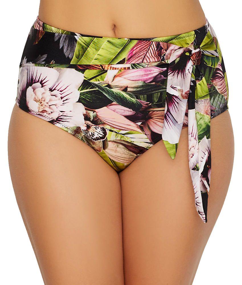 Pour Moi Orchid Luxe Control Brief 12905 Pour Moi Bikini Bottoms