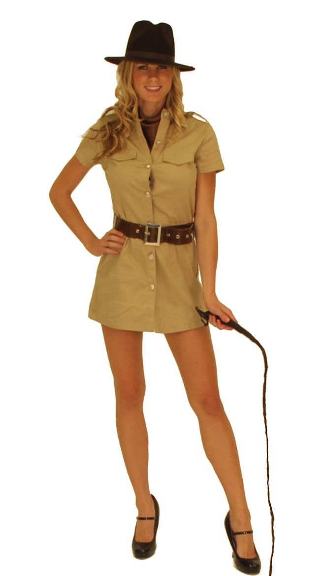 Sexy indiana jones costume