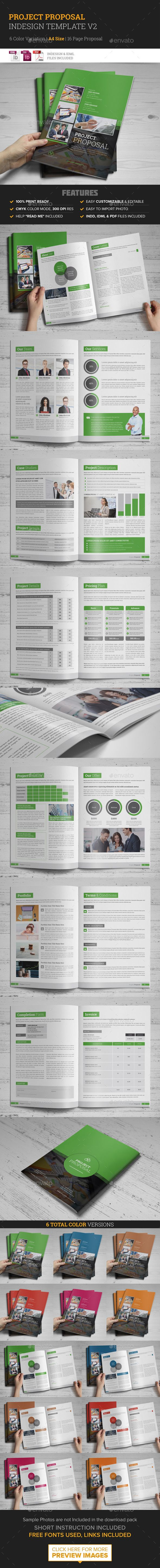 Project Proposal InDesign Template Download httpgraphicrivernetitem