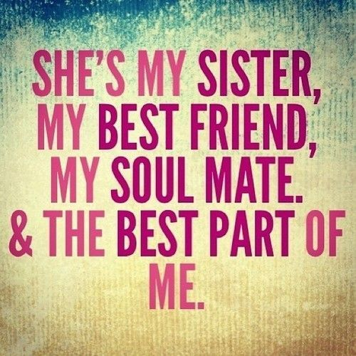 SISTERS QUOTES TUMBLR image quotes at relatably.com | {Best Friend ...