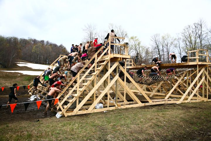 Pin on adult obstacle course.