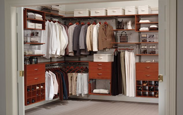 Bedroom Closets Ideas freedomrail cherry walk-in closet | closets | pinterest | bedroom
