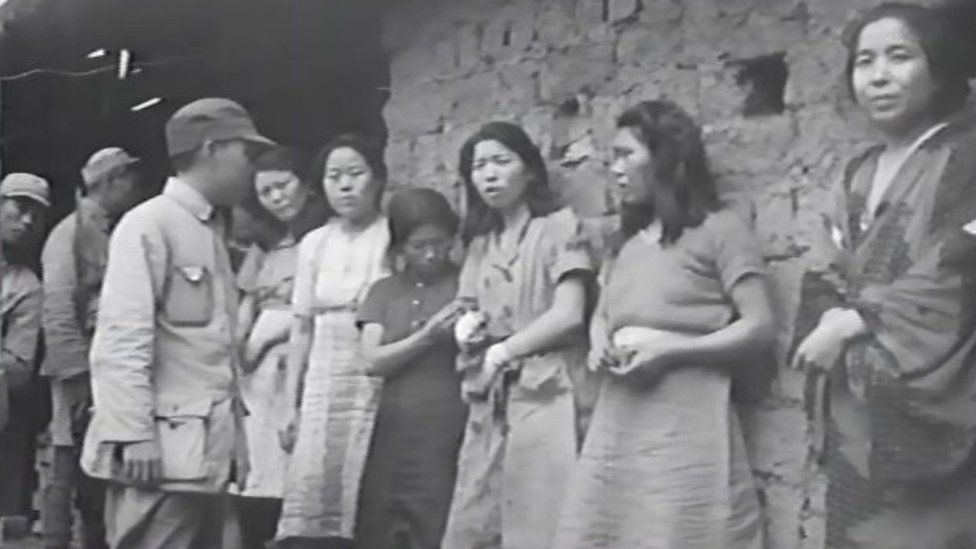 Comfort Women First Known Footage Emerges In South Korea Brutal