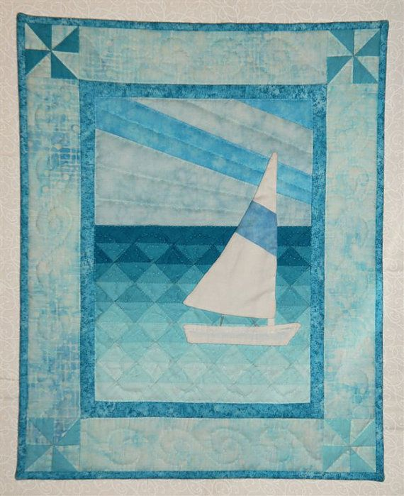 Sail Boat Wall Quilt Pattern by donnaburkholder on Etsy, USD 7.00 Quilt Inspirations 6 ...