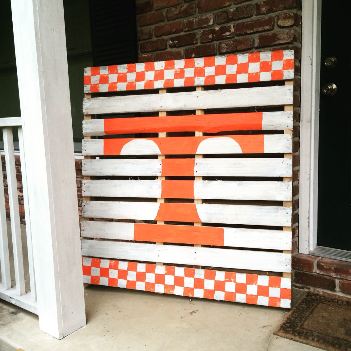 University of Tennessee pallet scrap wood art UT Vols ...