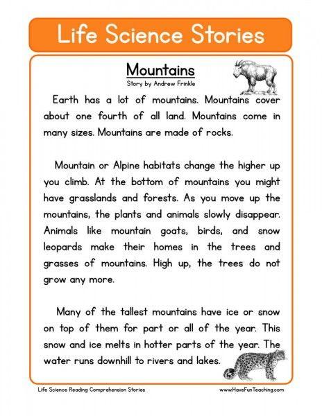 endangered animals reading comprehension pdf