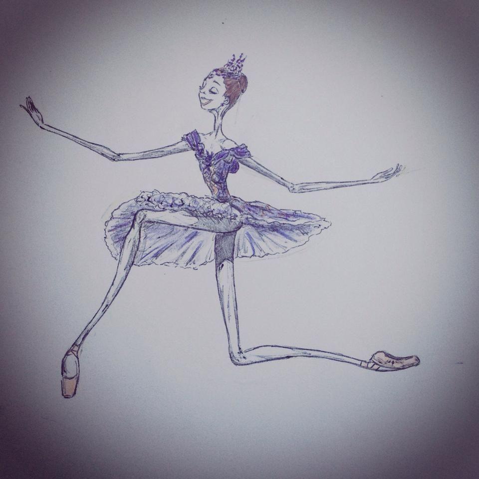 Barbara Zorzato's interpretation of the lilac fairy ...