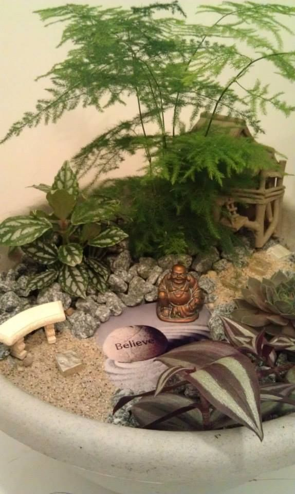 miniature zen garden zen fairy gardens and much more pinterest miniature zen garden. Black Bedroom Furniture Sets. Home Design Ideas