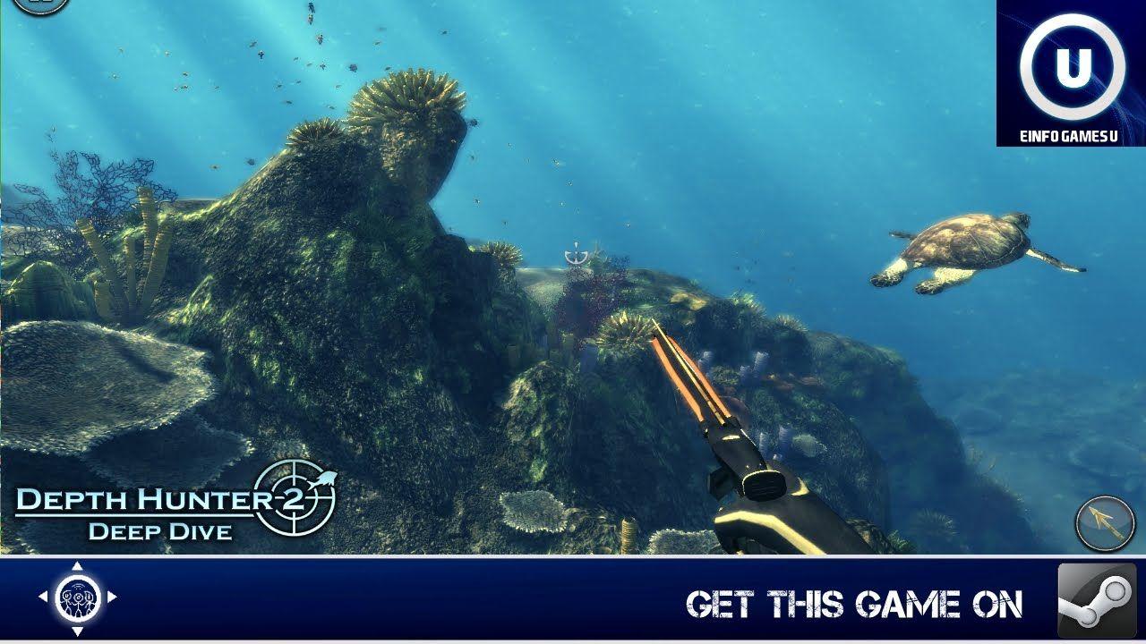Depth Hunter 2 Deep Dive Gameplay Diving, Hunter