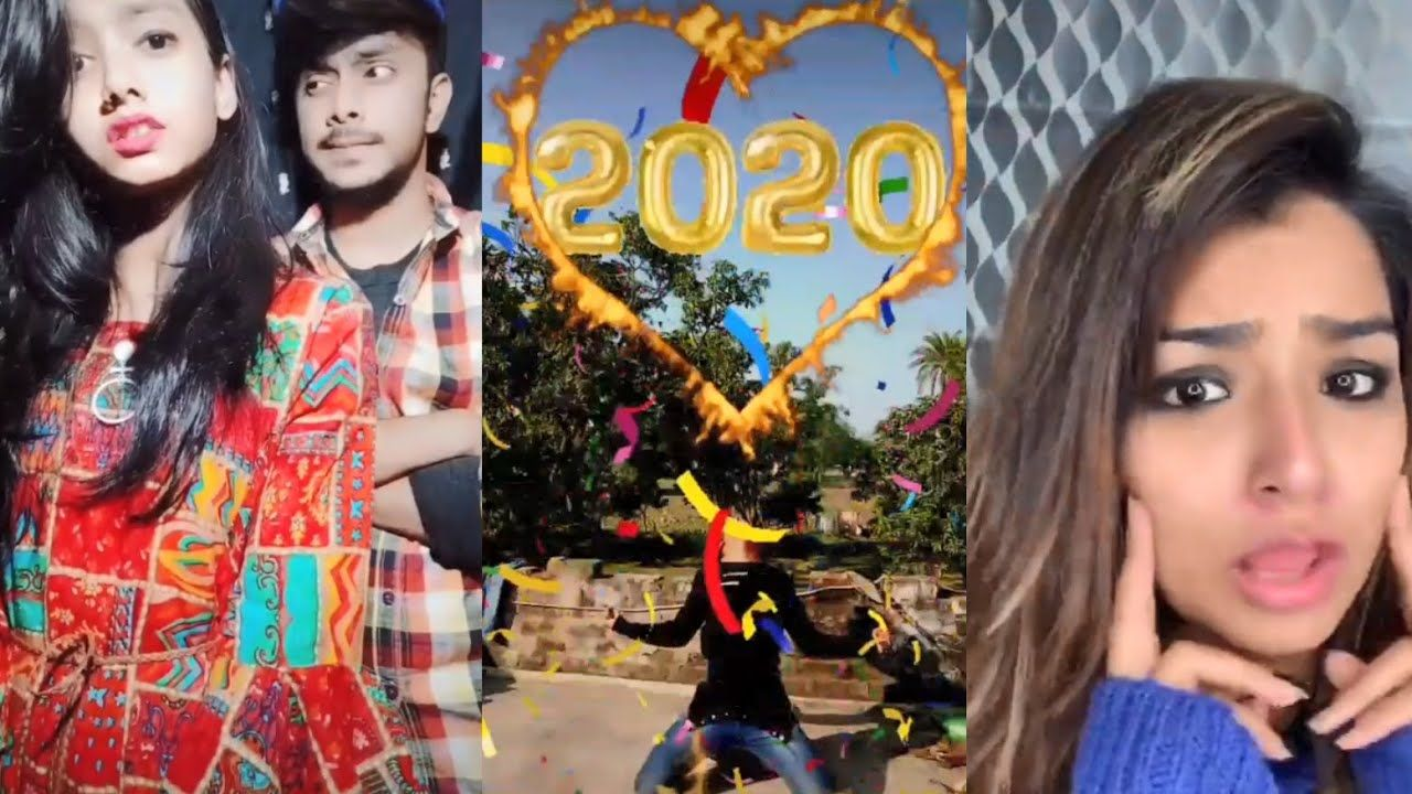 Happy New Year 2020 Latest Tiktok Funny Video Top Best Trending Musically Viral Song Come Happy New Year Funny Happy New Year Song Happy New Year 2020