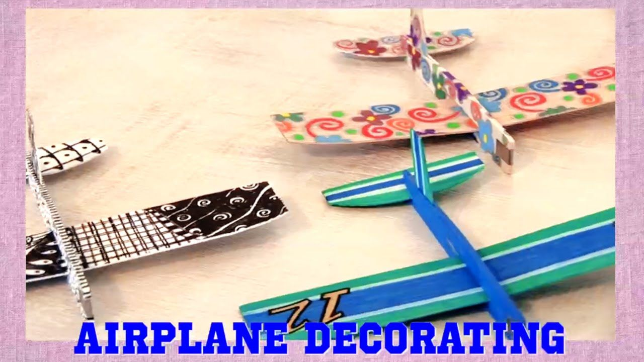 Paint pens for wood crafts - Candie Cooper Demonstrates How To Decorate Balsa Wood Airplanes With Sakura S Opaque Permapaque Pigment Markers And