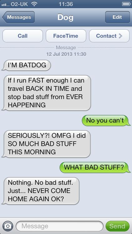 Texts From The Dog Texts From Dog Mittens Pinterest Funny