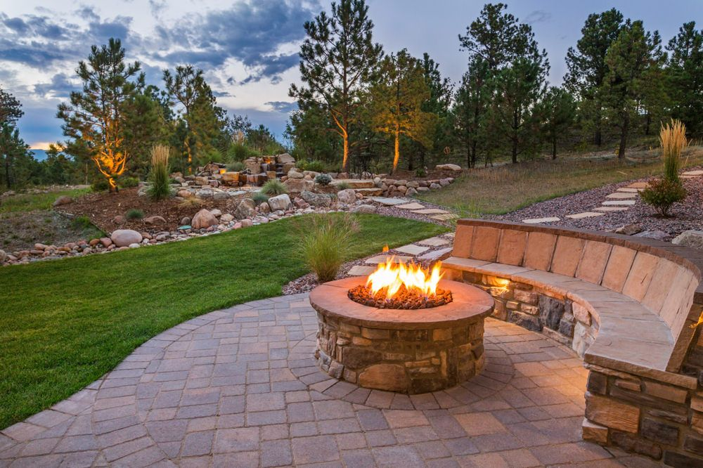 44 Outdoor Fire Pit Seating Ideas (Photos) (With images