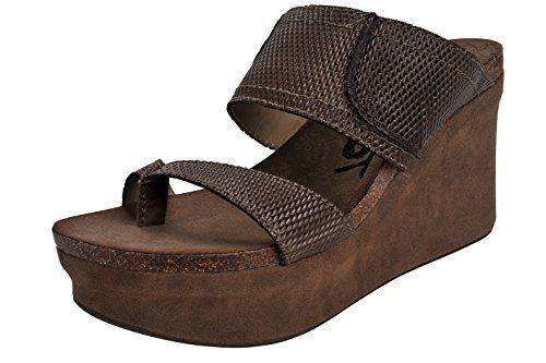 d184359453da OTBT Women s Brookfield Wedge Sandal (8.5 B(M) US
