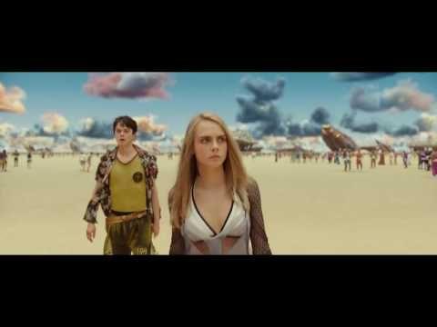 OJO A LOS COLORES DE LAS  NUBES!!!!!!!! Valerian y la ciudad de los mil planetas - Trailer 2 español (HD) - YouTube