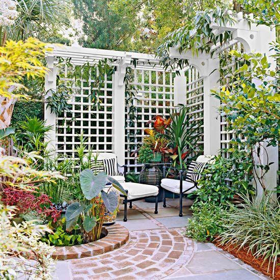15+ Garden Screening Ideas For Creating A Garden Privacy Screen ...