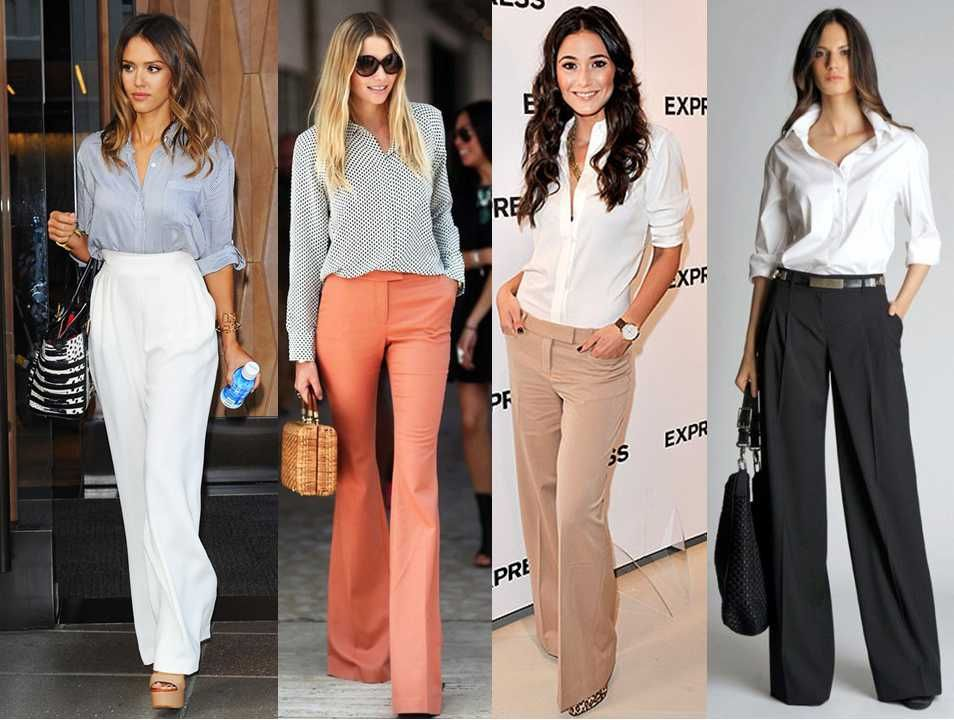 Office Perfection On Down Shirt Trousers Mama In Heels
