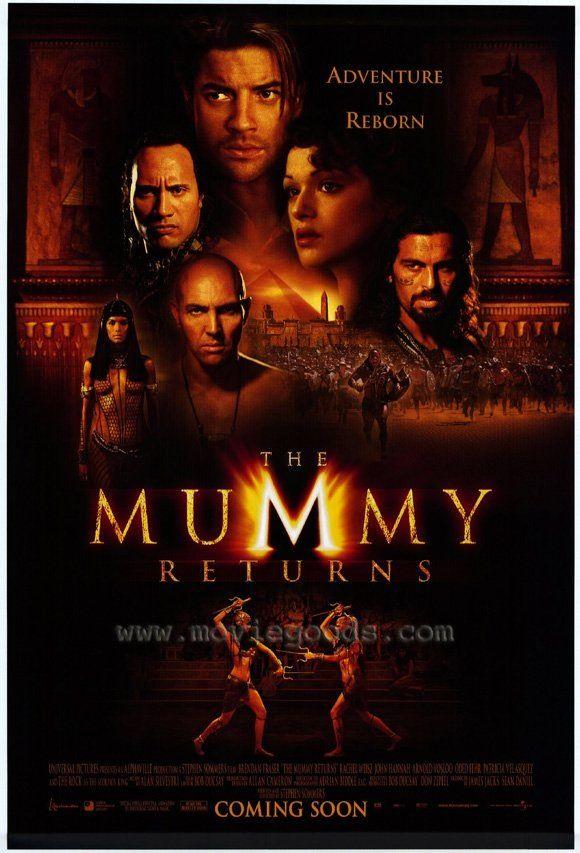 The Mummy Returns 2001 The Mummy Full Movie Mummy Movie Mummy