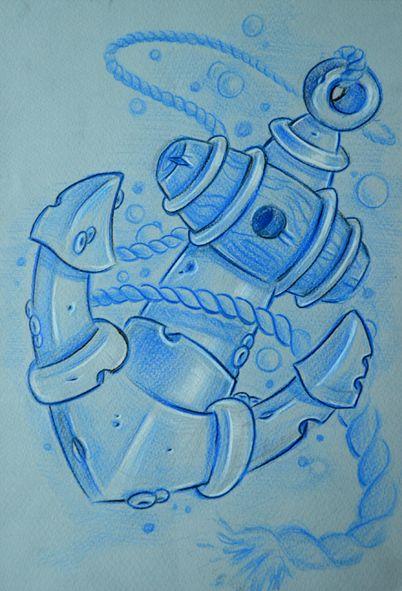 quick anchor sketch