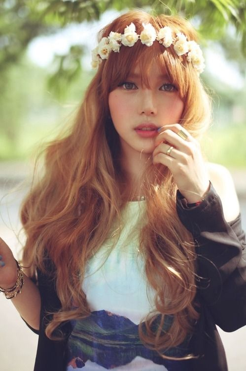 Natural Red Hair In Asia