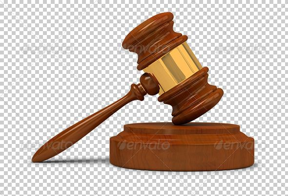 Judge Gavel Transparent High Resolution Psd With Shadows Alpha