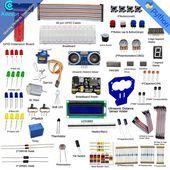 Ultrasonic Distance Sensor Starter Learning kit for Raspberry Pi 3 2 Model BB   Solar Power