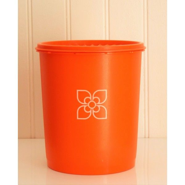 boite tupperware soleil orange vif vintage 70 39 s la boutique de petra tupperware collection
