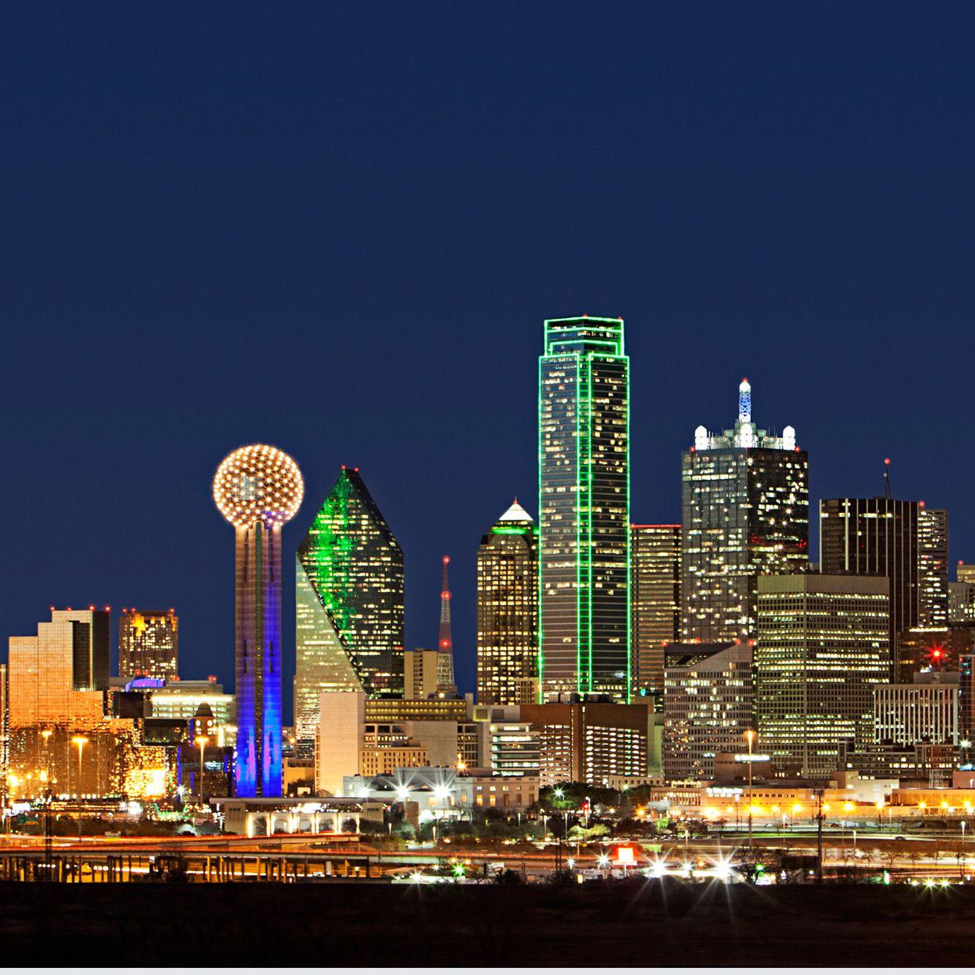Dallas Skyline Wallpaper   Leaders in Global Real Estate   Dallas   Pinterest   Dallas city ...
