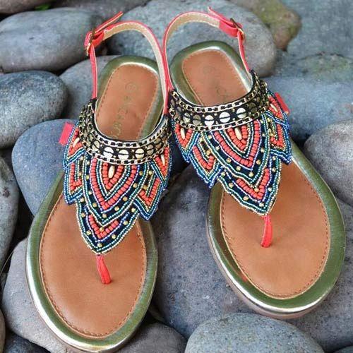 53f05900be Sandalias Indias Verano 2017 - Tendencias en Zapatos por Anca   Co