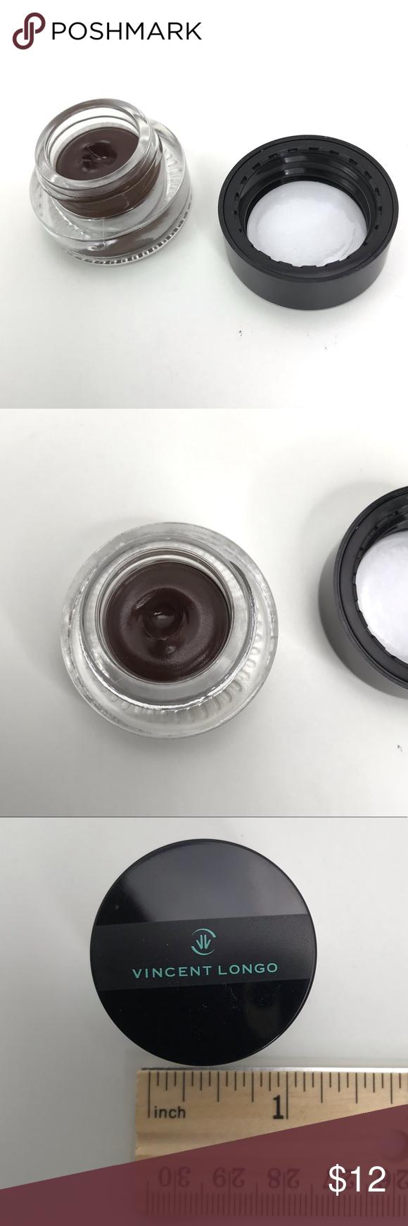 Longo Creme Gel Liner Jar in Felis Brown Vincent Longo Creme Gel Liner Jar in Felis Brown. Unboxed,