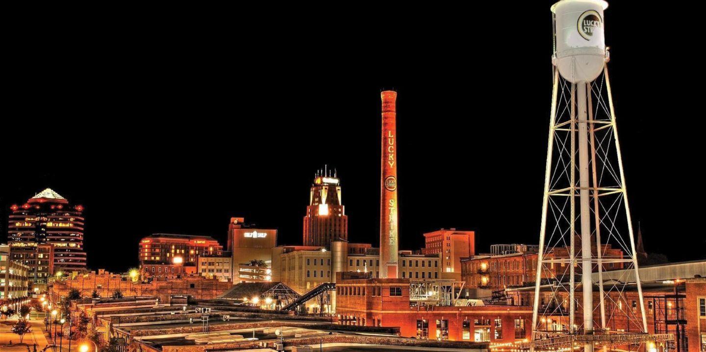 City Skyline Views From Downtown Durham Raleigh North Carolina