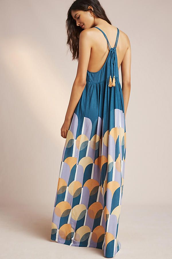 Maxi dress anthropologie customer