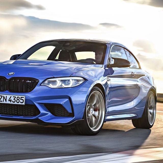 The 2020 BMW M2 CS. 444hp Twin Turbo Inline-six. 6 Speed