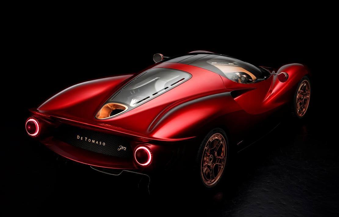 De Tomaso P72 Coupe Wordlesstech Super Cars Concept Cars Sport Cars