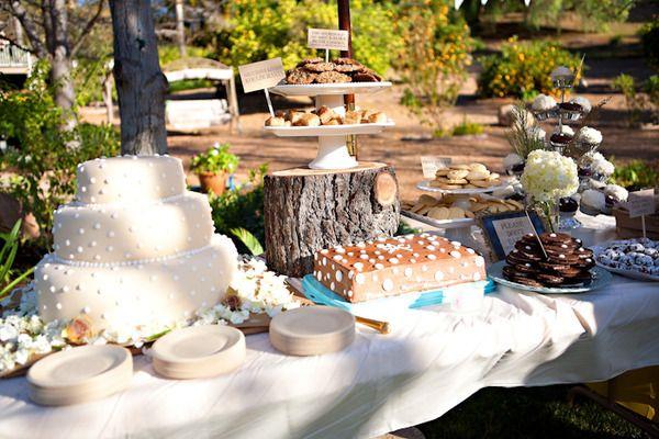 Pasteles De Boda Creativos: Creativas Mesas Para El Pastel De Bodas