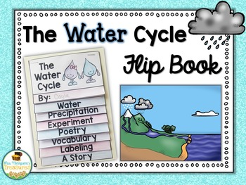 Water Cycle Flip Book Science Water Cycle Science Classroom