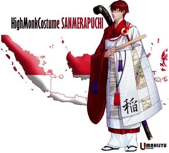 karakter anime negara peserta olimpiade 2020 Animasi