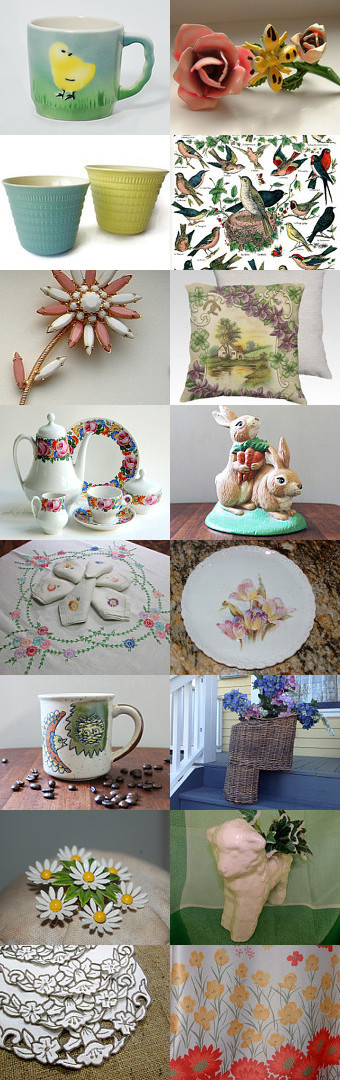 Spring-a-ding-ding! by Rachelle on Etsy--Pinned with TreasuryPin.com