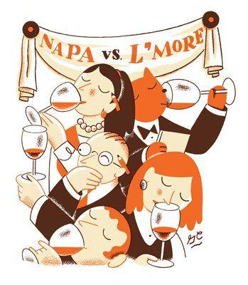 Napa wines vs. Livermore wines.
