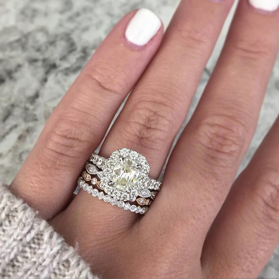 Financing Engagement Rings Engagementrings Big Wedding Rings Stacked Wedding Rings Floral Engagement Ring