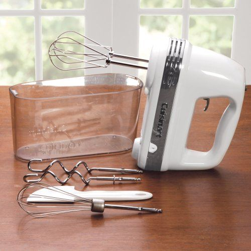 Cuisinart Power Advantage Plus 9 Speed Hand Mixer With Storage Case Hand Mixer Cuisinart Baking Gadgets