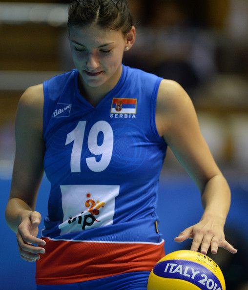 Tijana Boskovic Photos Photos Serbia V Turkey Female Volleyball Players Volleyball Players Women Volleyball