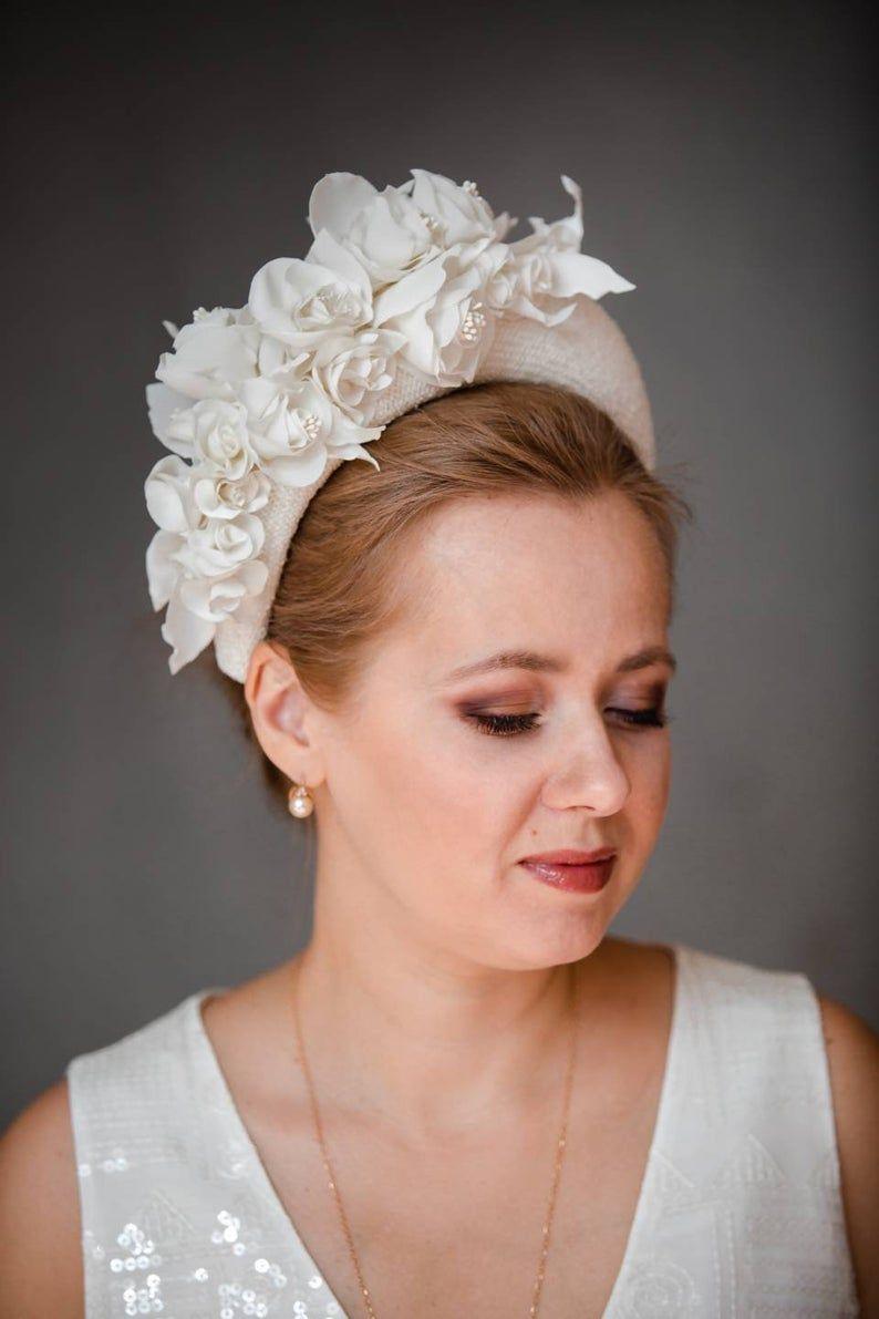 36+ White wedding hat with veil ideas