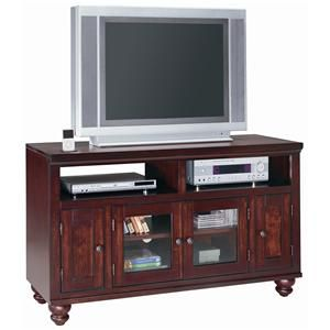 This Cambridge 52 Quot Exquisite Tv Console Features Two Glass