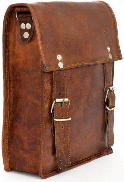 Gusti Leder K51b Bolso de mano estilo retro(piel, 22 x 28