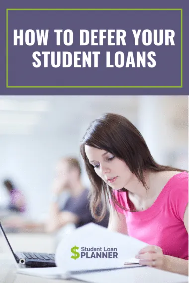 Lack of information about education loan interest rate subsidy schemes also prevents students from getting the benefits of government schemes. How to Defer Student Loans - Student Loan Planner ...