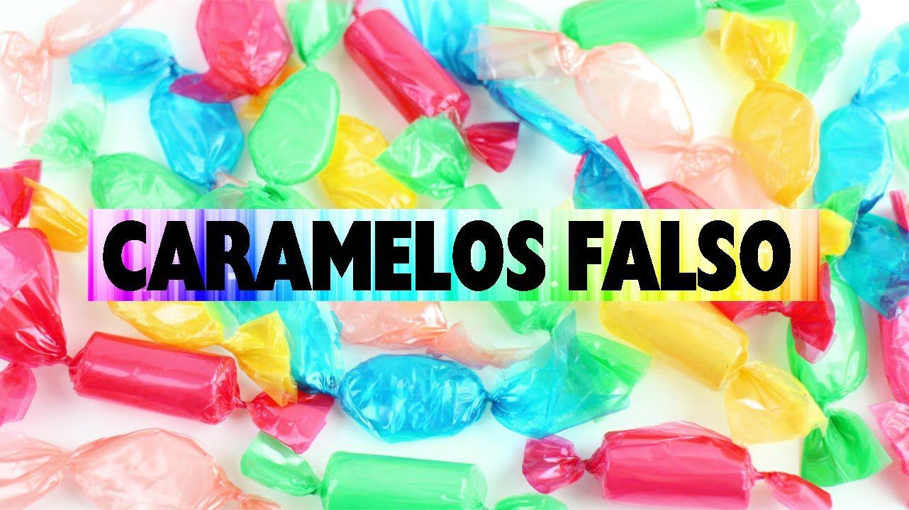 Cómo hacer caramelos falsos para decorar tu cuarto   manualidades ...
